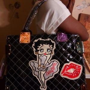Handbags - Large Betty-Boop Handbag